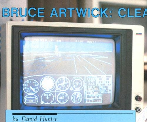 subLogic Article - Bruce Artwick: Cleared For Runway 8088